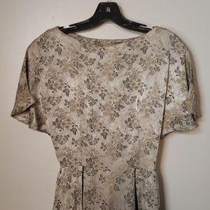 Dresses & Skirts - Authentic Floral Vintage Dress 50s